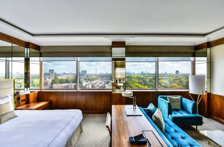 Royal Lancaster London - Bedroom with View