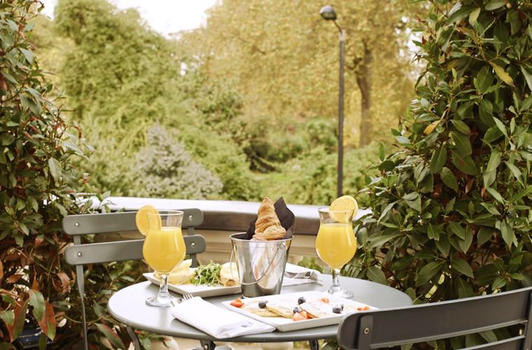 Eccleston Square Hotel London - Garden Breakfast